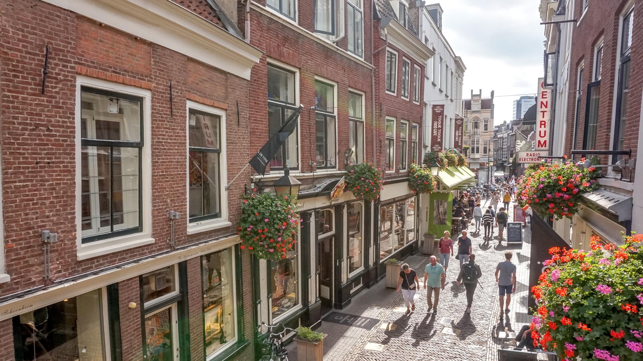 Winkelstraat in Utrecht