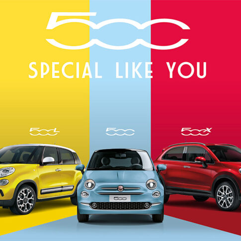 Fiat 500 pop up store Utrecht
