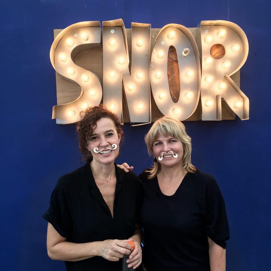 Annemarieke en Claudette van Uitgeverij Snor